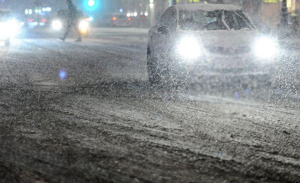 Etelä-Suomen lumesta valtaosa tulee häviämään vesisateiden myötä.