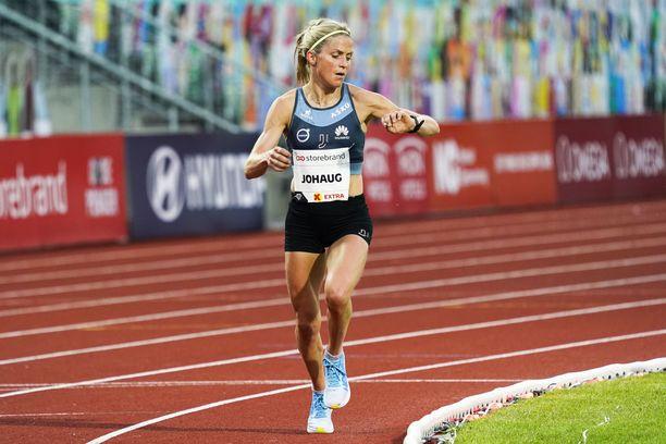 Therese Johaug juoksi mahtiajan Bislettillä.