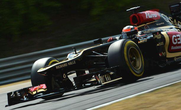 Kimi Räikkönen startaa Unkarissa kuudennesta lähtöruudusta.