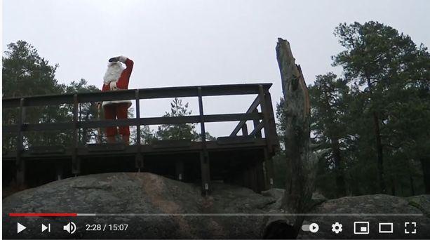 Videolla pukki nähdään samoilemassa luonnossa.