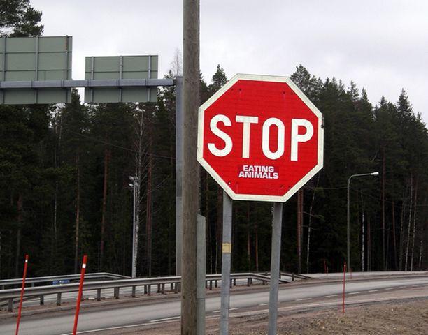 Kantaaottava liikennemerkki?