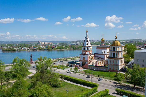 Suurin osa Siperian väestöstä asuu kaupungeista. Kuvan Irkutsk on niistä suurimpia.
