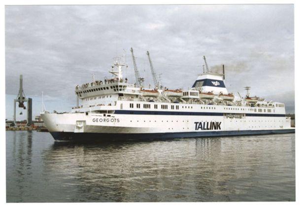Vuonna 1995 alusta liikennöi Tallink.