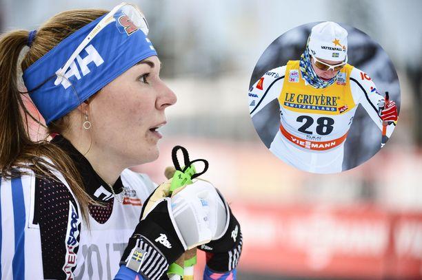Mona-Liisa Nousiainen ja Inga Ingermarsdotter ovat sukulaisia.