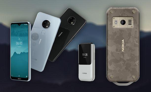 HMD esitteli uudet Nokia-puhelimensa Berliinissä.