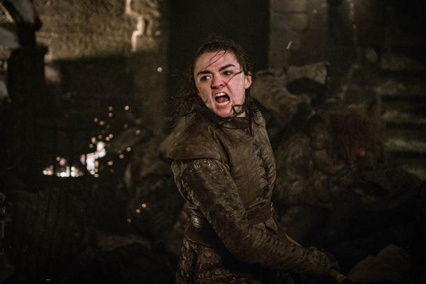 Arya Stark toi rauhan hyvin rohkealla tavalla.
