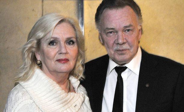 Pia Viheriävaaran ja Kari Tapion rakkaus kesti vuosikymmeniä.
