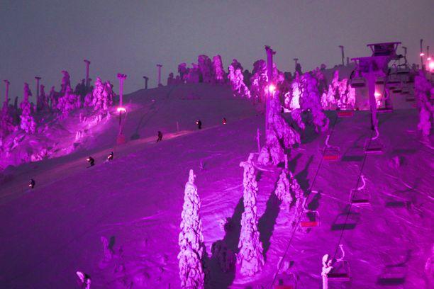 Maailman pohjoisin valofestivaali  Polar Night Light järjestetään Kuusamossa tammikuun lopulla.