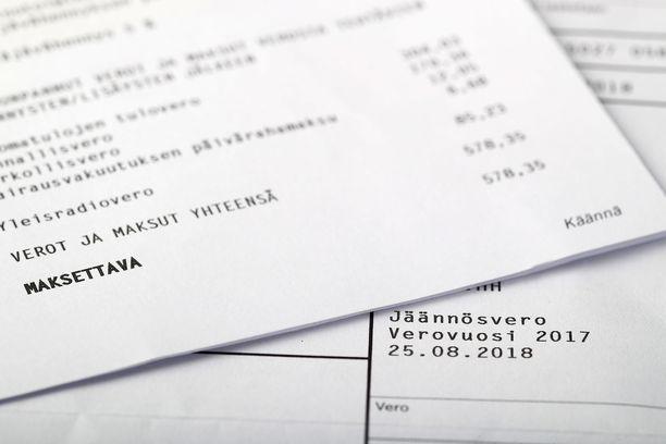 Verottajan lähettämät sekavat kirjeet ovat hämmentäneet suomalaisia. Kuvituskuva.