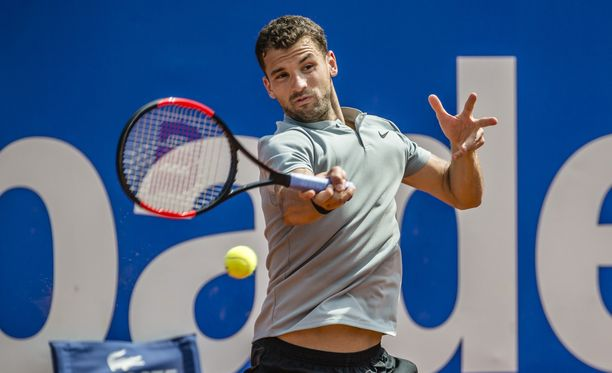 Tennispelaaja Grigori Dimitrov kiertää suuren osan vuodesta maailmalla.