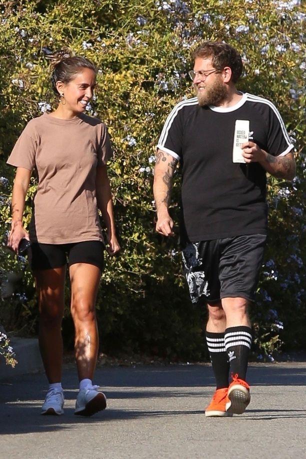 Vielä kesällä pari kuvattiin yhdessä urheilemassa ja viettämässä aikaa.