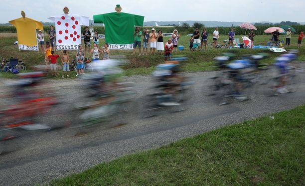 Raportin mukaan doping on yhä todella vakava ongelma pyöräilyssä.