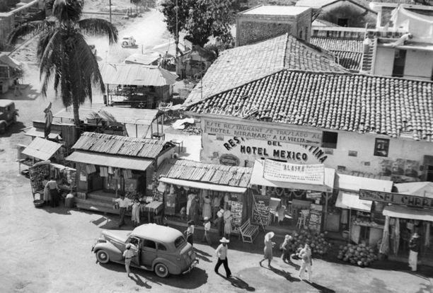 Acapulcon näkymiä 1940-luvulla.