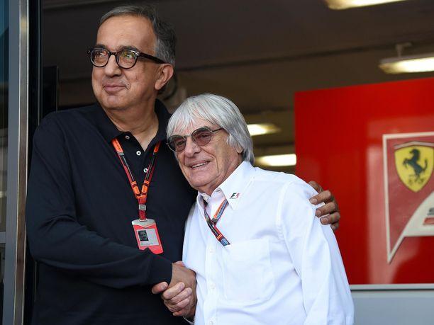 Bernie Ecclestonen mukaan Sergio Marchionnen kuolemalla oli tuntuvat vaikutukset siihen, miten Ferrarilla työskennellään.