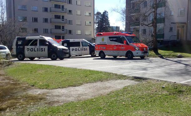 Poliisi tutkii Helsingin Munkkivuoressa tapahtunutta henkirikosta alustavasti tappona.