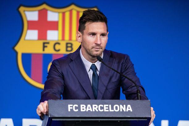 Lionel Messi jättää FC Barcelonan.