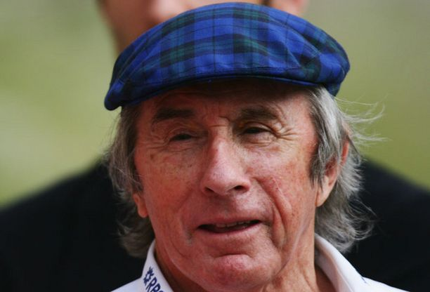Jackie Stewart on kolminkertainen F1-maailmanmestari.