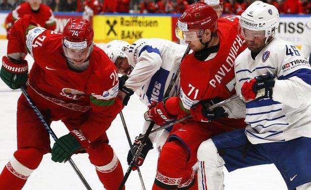 Valko-Venäjä väänsi elintärkeän voiton Ranskasta.