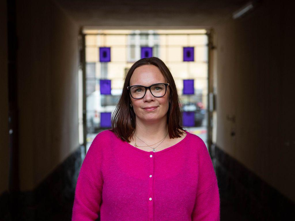SeriE-hankkeen erityisasiantuntija Anna Kolster-Weckström saattaa olla ensimmäinen ihminen, jolla lapsikohteinen paljastaa mieltymyksensä.