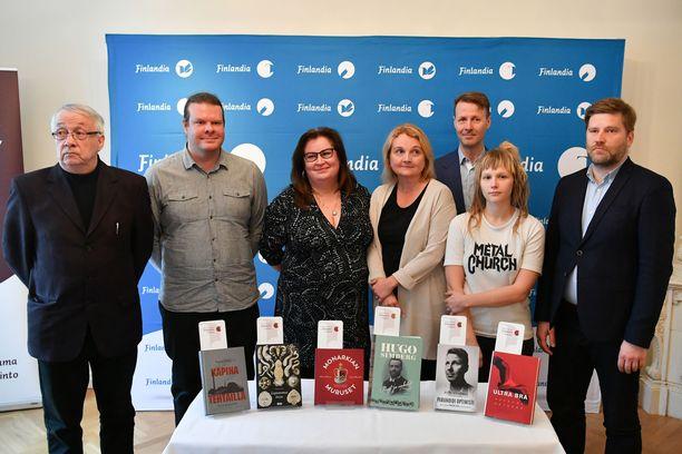 Tietokirjallisuuden Finlandia-palkintoehdokkaat vuonna 2018 olivat Seppo Aalto, Tuomas Aivelo, Kaisa Haatanen & Sanna-Mari Hovi, Helena Ruuska, Risto Siilasmaa & Catherine Fredman ja Ville Similä & Mervi Vuorela.