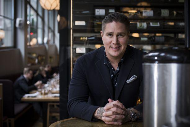 Tomi Björck kehittää muun muassa Bronda-ravintolansa toimintaa Helsingissä.