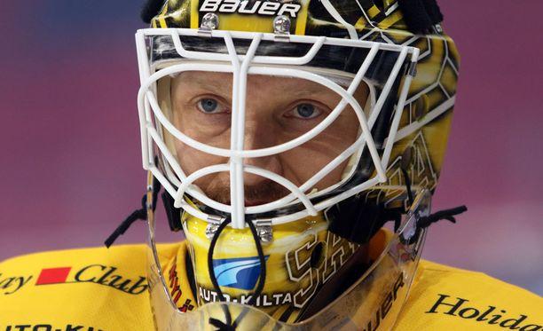 SaiPa-vahti Jussi Markkasen koppi ei tarttunut samaan tapaan kuin edellisessä Lukko-kohtaamisessa.