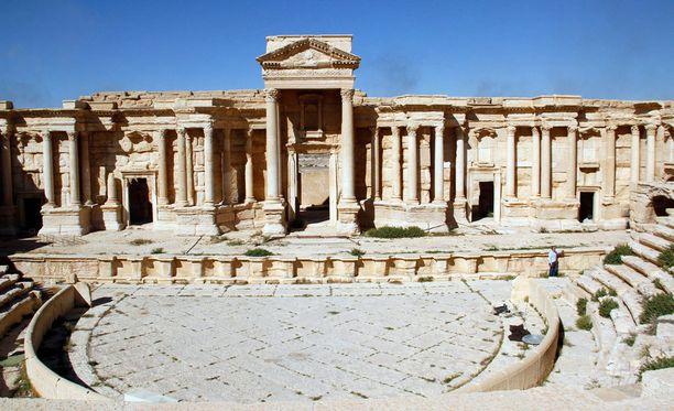 Palmyrassa sijaitsee paljon kulttuurihistoriallisesti arvokkaita kohteita.