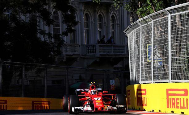 Bakun katuradalla selvitetään tänään kauden kahdeksannen GP:n lähtöjärjestys.