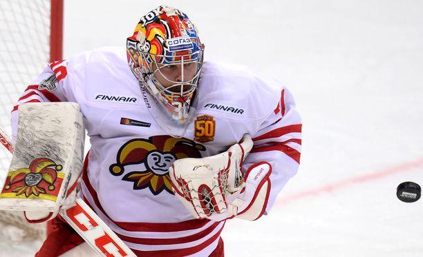 Ryan Zapolski teki tänään uskomattoman torjunnan Amur Habarovskia vastaan.