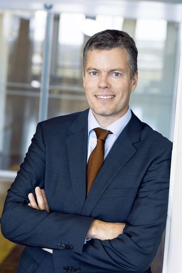 Markus Rauramo on toiminut kahdeksan vuotta Fortumin talousjohtajana.