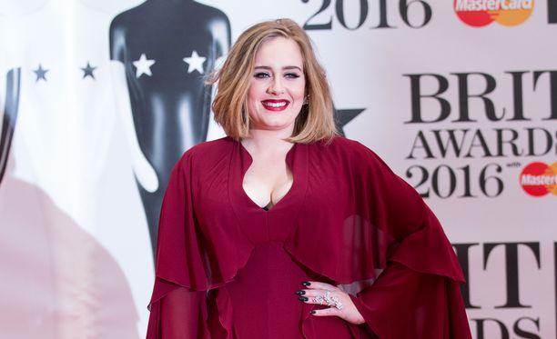 Adele konsertoi parhaillaan Tukholmassa. Arkistokuva.