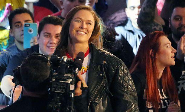 Showpainin maailmaan siirtynyt Ronda Rousey on näytellyt myös elokuvissa.