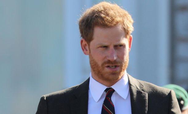 Prinssi Harry sai kuittia syntymäpäivänään.