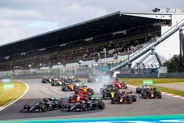 Tallien säädöt eivät olleet sataprosenttisesti täydelliset Eifelin GP:ssä.