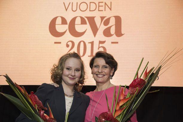Vuonna 2015 Anna Rukko palkittiin Vuoden Eeva -kilpailussa vuoden tulokkaana. Palkinto jaetaan naiselle, joka on vuoden aikana saavuttanut jotain merkittävää ja toiminut kannustavana esikuvana naisille. Samana vuonna Vuoden vaikuttaja -palkinnon pokkasi Anne Berner.