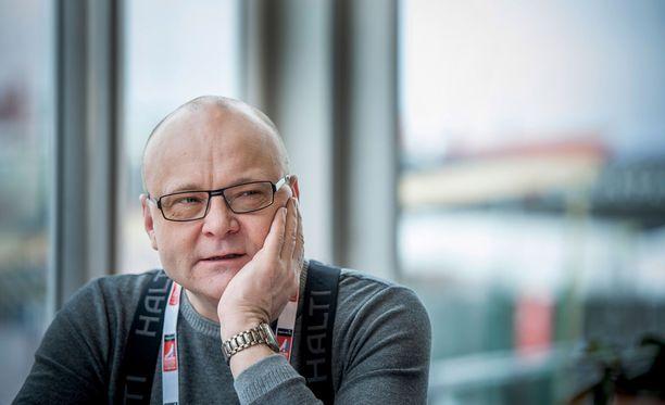 Tapio Suominen aloitti Ylellä jo vuonna 1988.