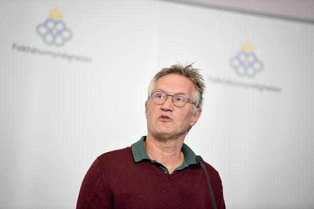 Ruotsin valtionepidemiologi Anders Tegnell.