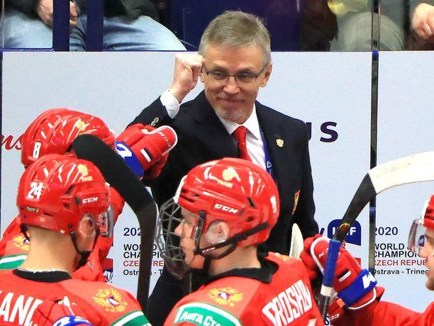 Igor Larionov nähtiin Venäjän penkin takana jo edellisissä nuorten MM-kisoissa,