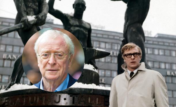 Elokuvan kuvausten aikaan Michael Caine oli kolmikymppinen. Tätä nykyä hän on 86-vuotias.