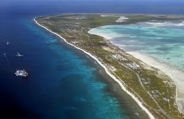 Kiribati sopii kiireettömille.