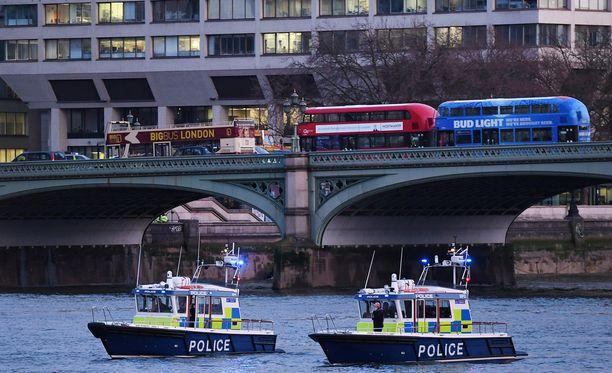 Andreea pelastui pudottuaan Thames-jokeen.