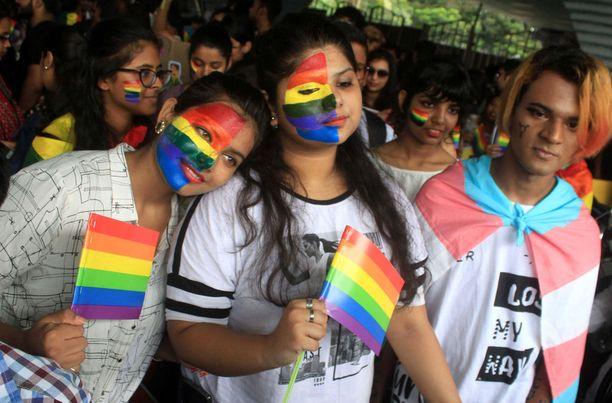 Intiassa nähtiin syyskuussa näyttäviä Pride-marsseja.