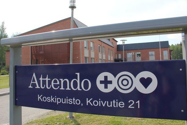 Lääkevarkaus paljastui Attendo Koskipuistossa, joka sijaitsee Jämsänkoskella.