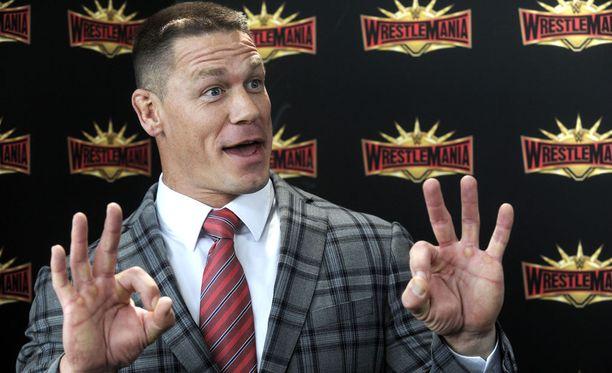 John Cena tekee paluuta kehiin kovemmassa kunnossa kuin koskaan aiemmin.