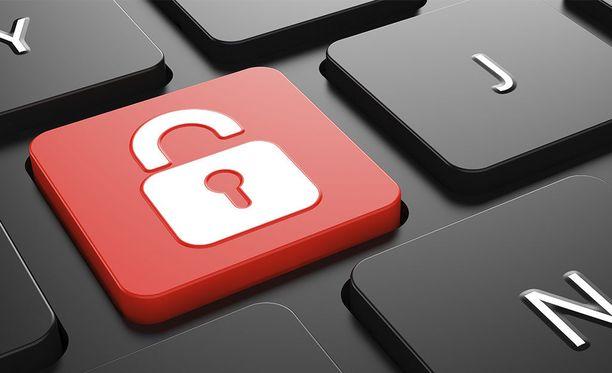 Eri palveluihin kannattaa käyttää eri salasanoja.