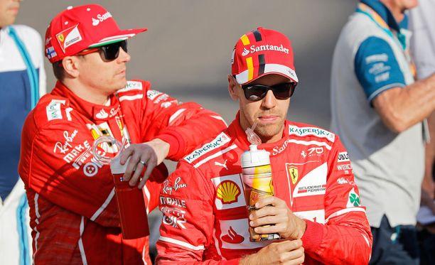 Kimi Räikkönen ja Sebastian Vettel tavoittelevat Ferrarille sen ensimmäistä valmistajien maailmanmestaruutta sitten vuoden 2008.