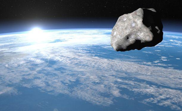 Nasa yrittää suojata maata asteroideilta, joilla voisi olla maahan osuessaan tuhoisat vaikutukset. Kuvituskuva.