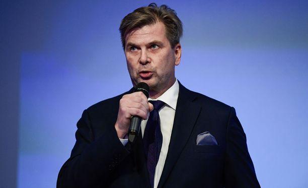 Heikki Hiltunen toimii myös SM-liigan puheenjohtajana.
