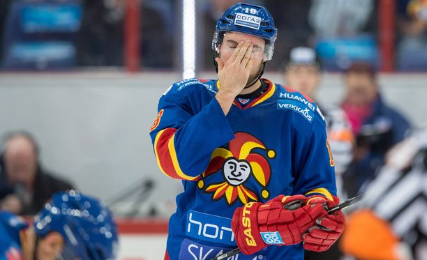 Jesse Joensuu teki runkosarjassa yhdeksän maalia ja 25 (9+16) tehopistettä.