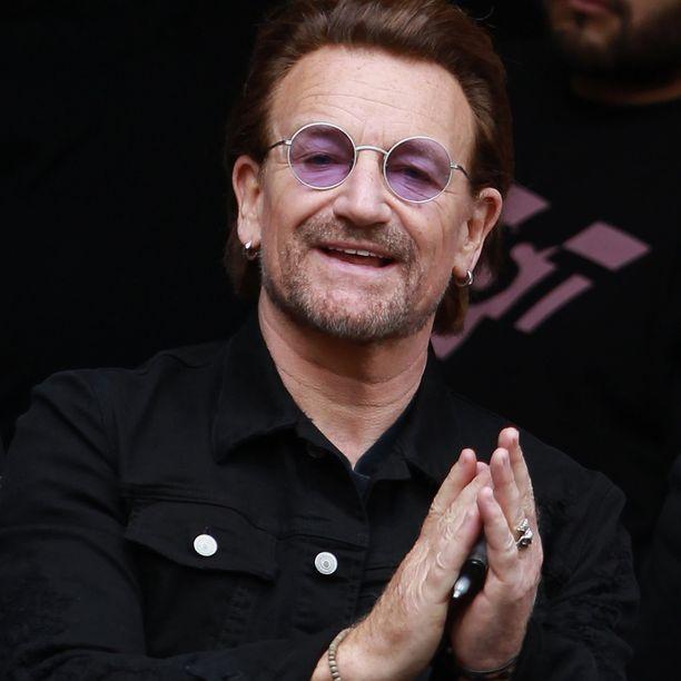 Bono on tunnettu lähinnä hyväntekeväisyydestä.